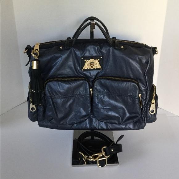 Juicy Couture Handbags - Juicy Couture Large Blue Duffel Bag
